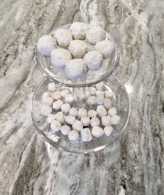 coconut truffle training treats